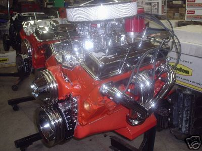 Chevy on Small Block Chevy Crate Engines